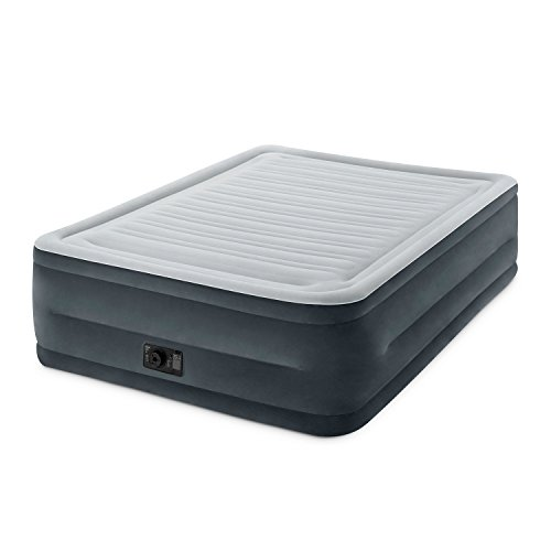 Intex Comfort Plush Elevated Dura-Beam Airbed with Built-in Electric