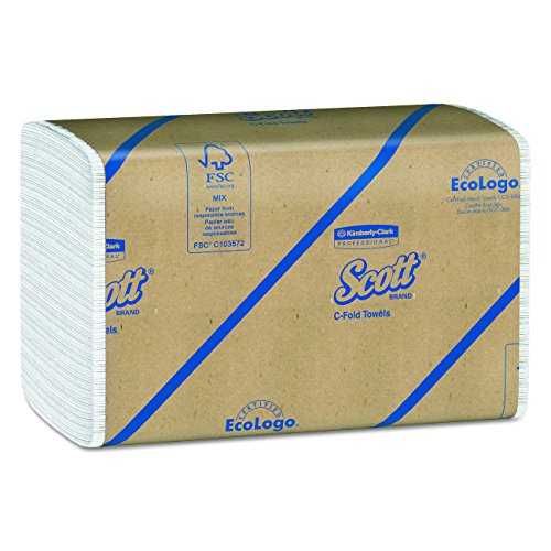 Scott C Fold Paper Towels (01510) with Fast-Drying Absorbency