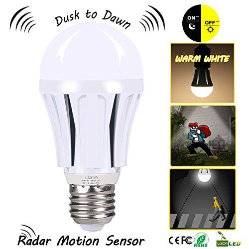 Dusk to Dawn LED Motion Sensor Light Bulb,100 Watt