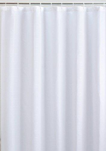 Mildew Resistant Fabric Shower Curtain Waterproof/Water-Repellent  Antibacterial, 72x72