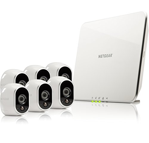 Netgear Arlo Security System - 6 Wire-Free Hd Night