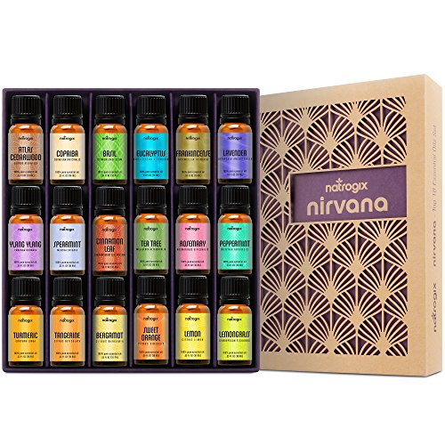 Natrogix Nirvana Essential Oils - Top 18 Essential Oils