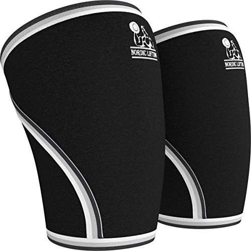 Nordic Lifting Unisex Knee Sleeves Large - Black (1