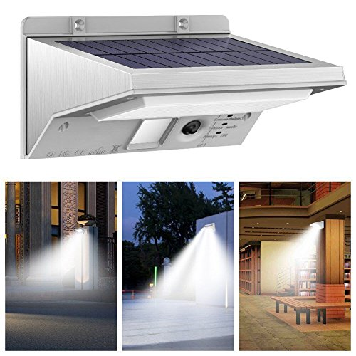 Solar Lights Outdoor, OMNi Bright 21 LED Solar Powered