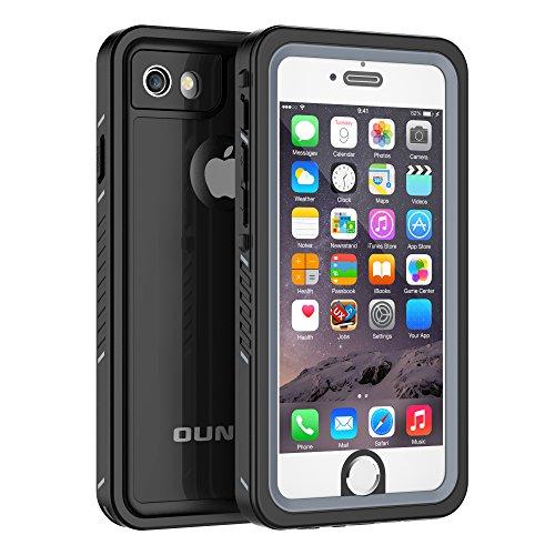 iPhone 6/6s Waterproof Case, OUNNE Shockproof Dustproof Waterproof With