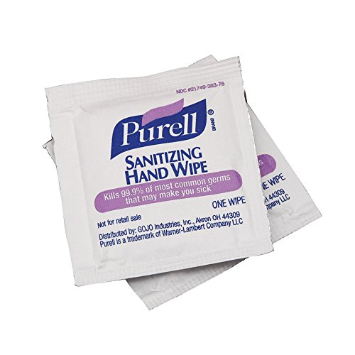 PURELL Sanitizing Hand Wipes – Individually Single Wrapped (300