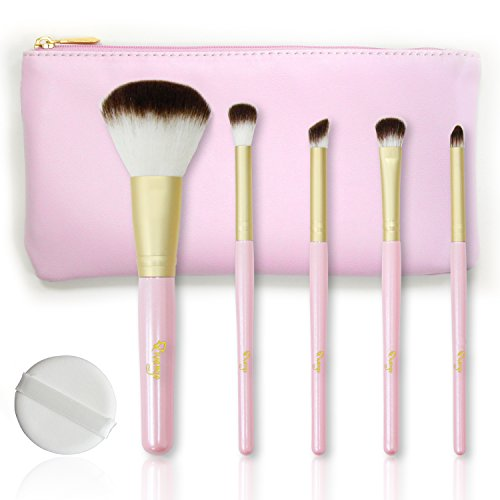 Qivange Makeup Brushes, Premium Blush Blending Eyeshadow Bronzer Brush