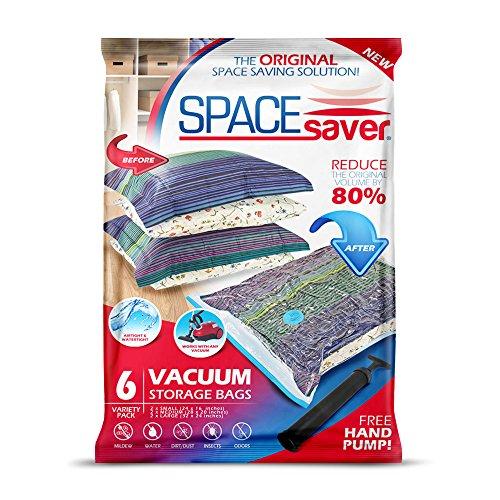 SpaceSaver Premium Vacuum Storage Bags (2 x Small, 2