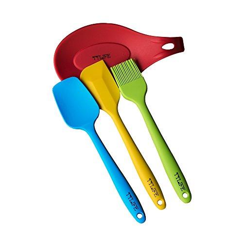 TTLIFE Customize Silicone Kitchen Utensil Set ,Silicone Spatula Utensil
