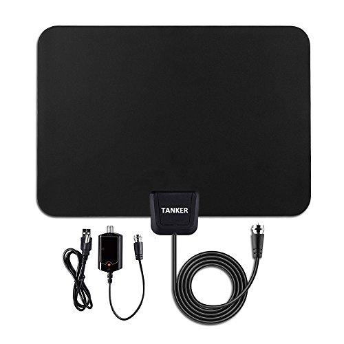 TV Antenna-50 Mile Range with Detachable Amplifier, HDTV Indoor