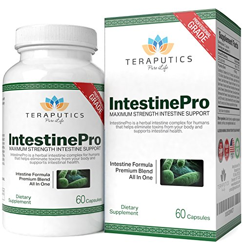 IntestinePro 10-Day Intestine Cleanse for Humans with NON-GMO Wormwood