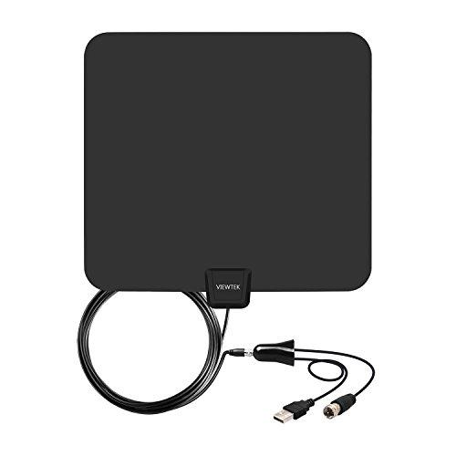 Amplified HDTV Antenna- VIEWTEK Digital Indoor TV Antennas, 50