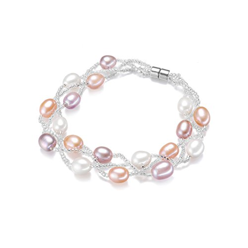 Wiw Freshwater Pearl Bracelet for Women with AA Quality