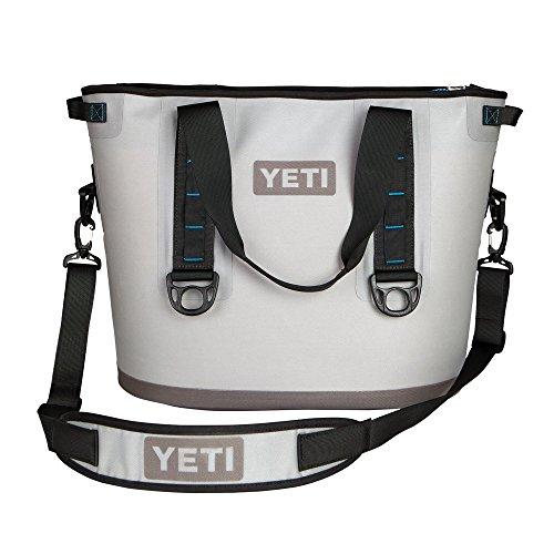 YETI Hopper 30 Portable Cooler Fog Gray / Tahoe