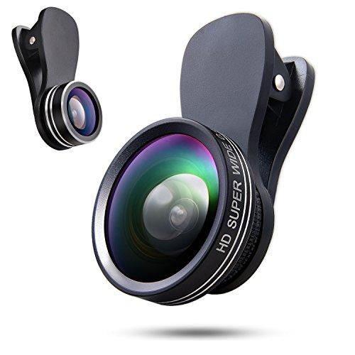 Phone Camera Lens 3 In 1 Kit, 180 Degree