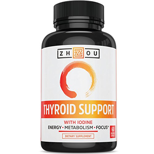 Thyroid Support Complex With Iodine - Energy, Metabolism