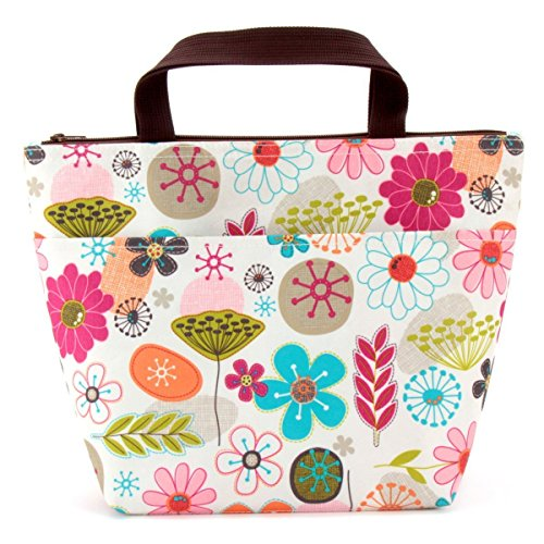 Lunch Bag Flower Lunch Box Insulated Lunch Bag with