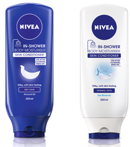 FREE Nivea In Shower Body Lotion or In-Shower Cocoa Butter Body Lotion Sample
