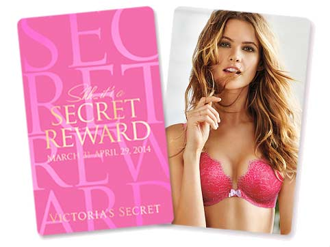 Get FREE Victoria's Secret Reward Cards ($10 to $500!)