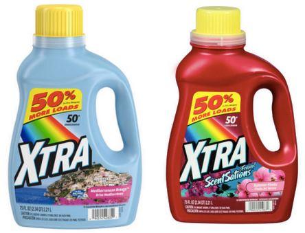 FREE Xtra Laundry Detergent 75 oz at Kmart