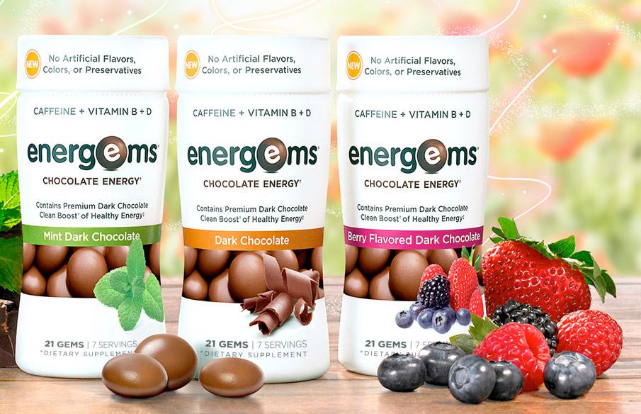 FREE Energems Chocolate Energy Samples