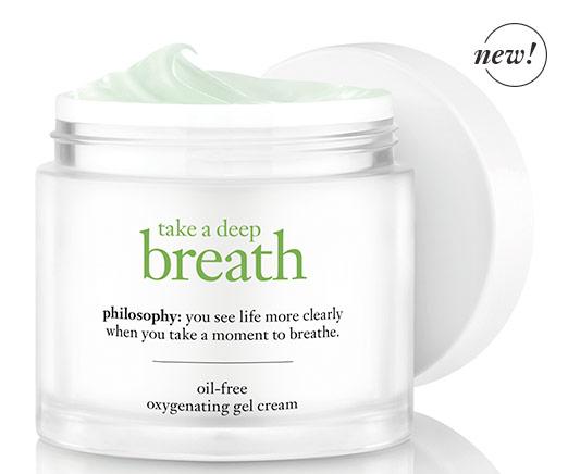 FREE Philosophy Take a Deep Breath Oil-Free Oxygenating Gel Cream Sample