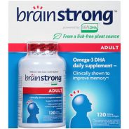 BrainStrong DHA Supplement up to $8 (No Receipt)