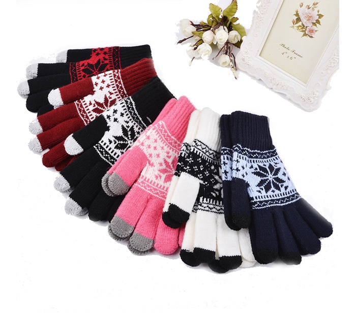 Get Free Fashionable Touchscreen Winter Gloves!