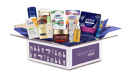 Get A Free Beauty Box From Amazon!