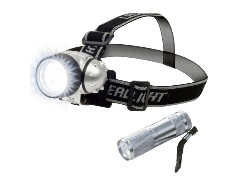 Get A Free Stalwart 12 LED Headlamp PLUS 6 LED Flashlight Super Set!