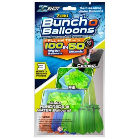 Get A Free Pack Of Bunch O Balloons!