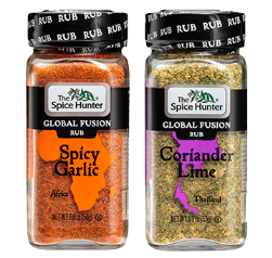 Get A FREE Coriander Lime or Spicy Garlic Global Fusion Rub Sample!