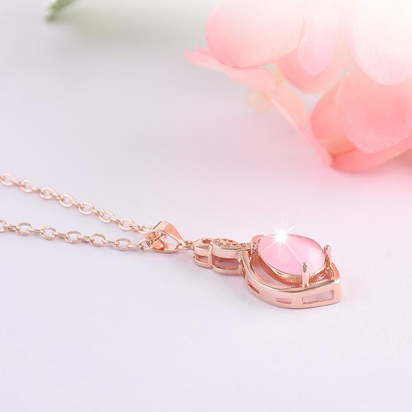 Get A Free Pink Resin Necklace!