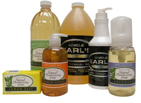 Get Free Sample of Uncle Earl's Hand Soap!