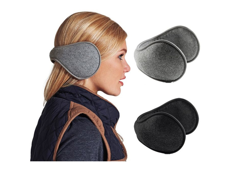 Get A Free 2-Pack Unisex Fleece Behind the Neck Ear Muffs!