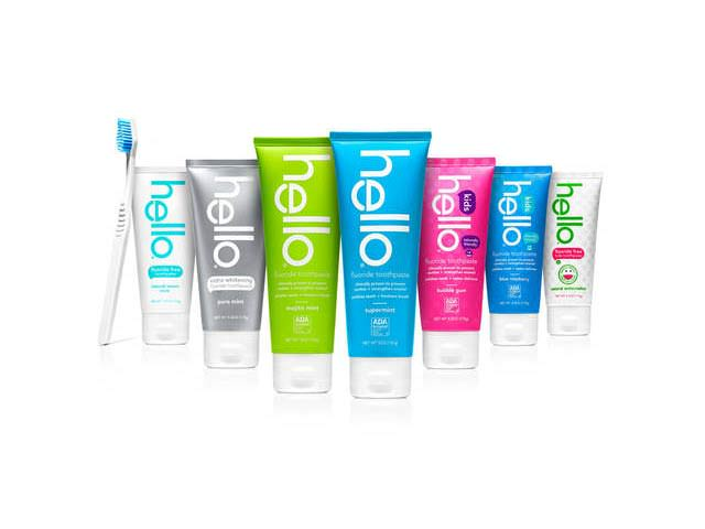 Get A Free Hello Toothpaste & Travel Bag!