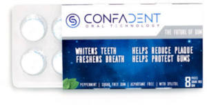 FREE Confadent Chewing Gum Sample