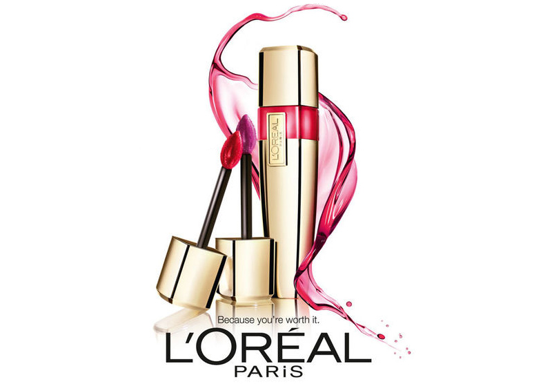 Get A Free L'Oreal Shine Caresse Lip Gloss!