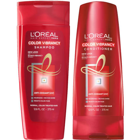 Get Free L'Oreal Color Vibrancy Intensive Shampoo & Conditioner!