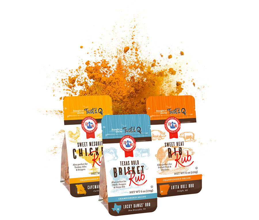Get A FREE Twist'd Q Premium BBQ Rub Sample!