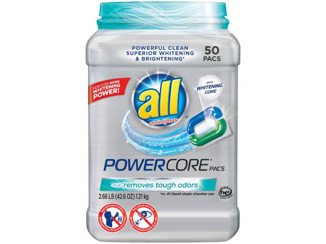 Get A Free All PowerCore Laundry Detergent! (50 count)