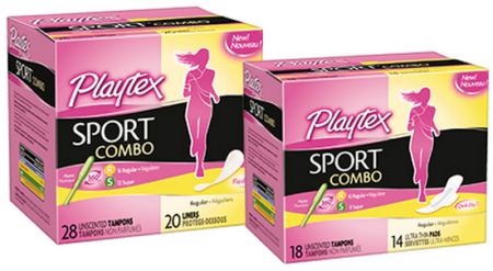 Get A FREE Playtex Tampon/Pad Combo Pack!