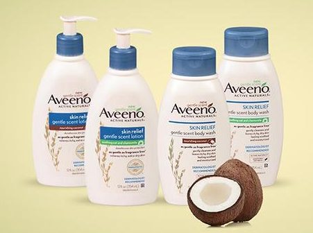 FREE Aveeno Lotions From Healthy Essentials