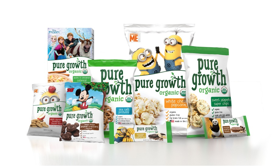 Get Free Pure Growth Organic Snacks!