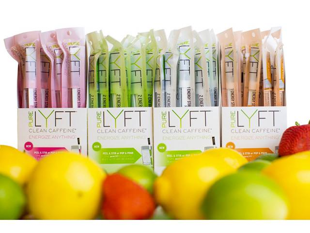 Get A Free PureLYFT All Natural Caffeinated Drink!
