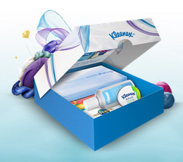 Get A Free Travel Pack of Kleenex!