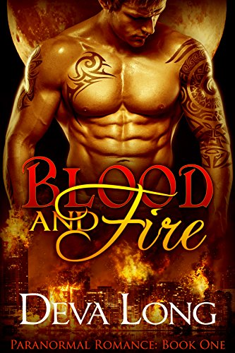 Blood and Fire Book 1: A Dragon vs. Vampire