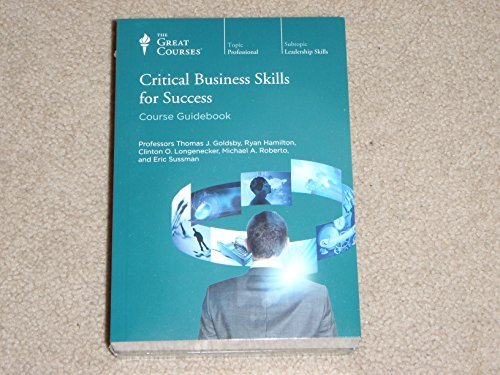 The Great Courses: Critical Business Skills for Success