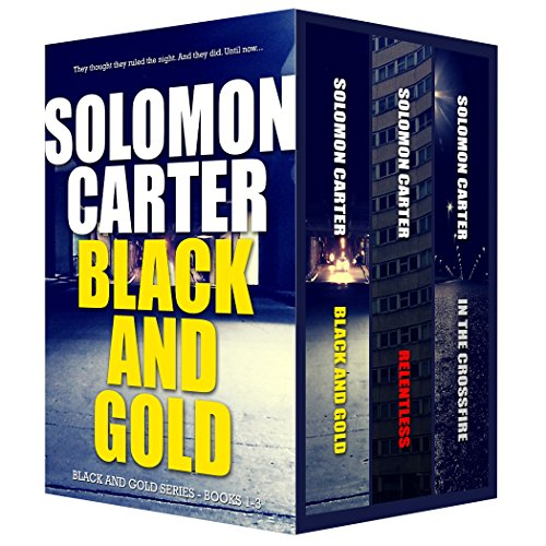 Black and Gold Vigilante Justice Action and Adventure Crime