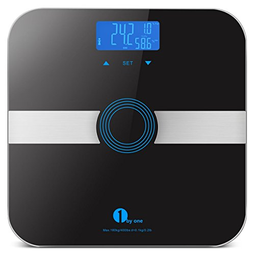 1byone Body Fat Scale Body Scale Bathroom Scale with